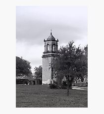 San Jose Mission Bell Tower Photographic Print