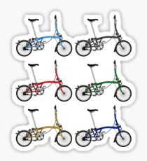 Brompton Bicycle Sticker