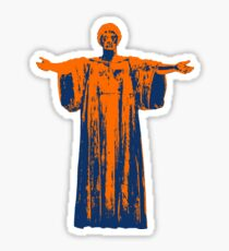 Hail to the Orange, Hail to the Blue Sticker