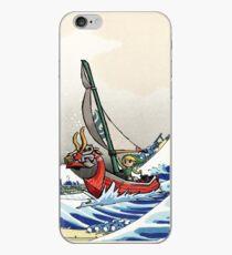 Legend of Zelda Great Wave Windwaker iPhone Case