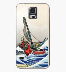 Legend of Zelda Great Wave Windwaker Case/Skin for Samsung Galaxy
