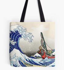 Bolsa de tela Legend of Zelda Great Wave Windwaker