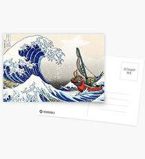 Legende von Zelda Great Wave Windwaker Postkarten