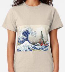 Legend of Zelda Great Wave Windwaker Classic T-Shirt