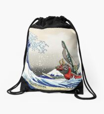 Mochila saco Legend of Zelda Great Wave Windwaker