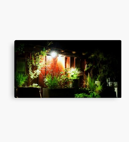 Antique Barn After Hours Canvas Print