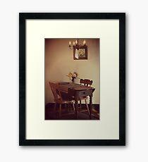18th Century Dining Framed Print
