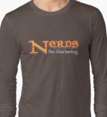 Nerds sammeln - Magic The Gathering MTG Spoof Langarmshirt