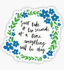 Ten Seconds Sticker