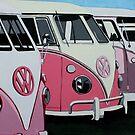 Pink Ladies by samcannonart
