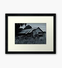 Old Workshop  Framed Print