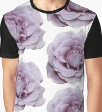 Lilac Garden Rose - Hipster/Pretty/Trendy Flowers Graphic T-Shirt