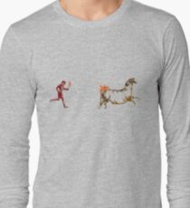 The Discovery of Fire #1 Long Sleeve T-Shirt