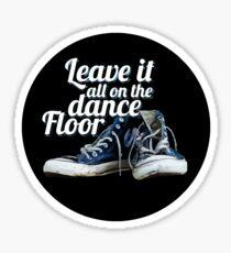 Dance Floor Sticker