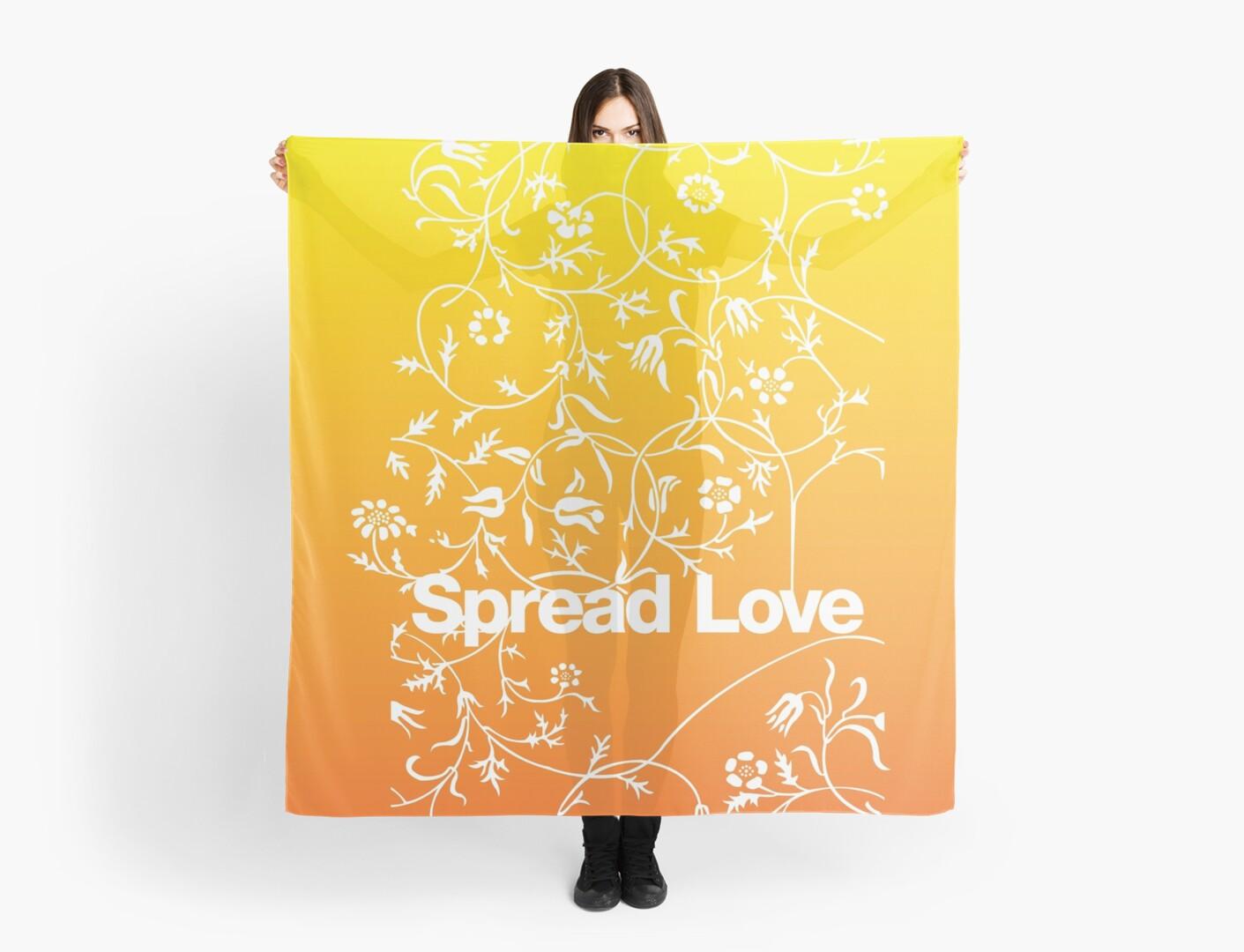 Spread Love - OrangeYellow by tommyrockett