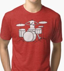 David Shrigley 'Headless Drummer' Shirt Tri-blend T-Shirt