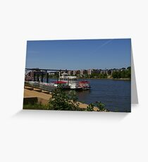 Mississippi Paddleboat Greeting Card