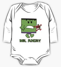 Mr Angry One Piece - Long Sleeve
