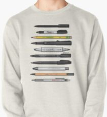 Pen Collection For Sketching And Drawing (Plain) Pullover