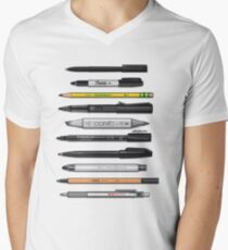 Pen Collection For Sketching And Drawing (Plain) T-Shirt