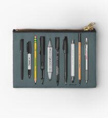 Pen-Sammlung zum Skizzieren und Zeichnen (Plain) Täschchen