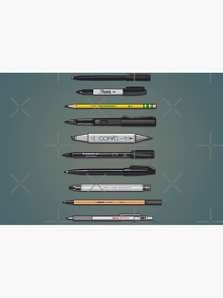 Pen Collection For Sketching And Drawing (Plain) by monkeycom