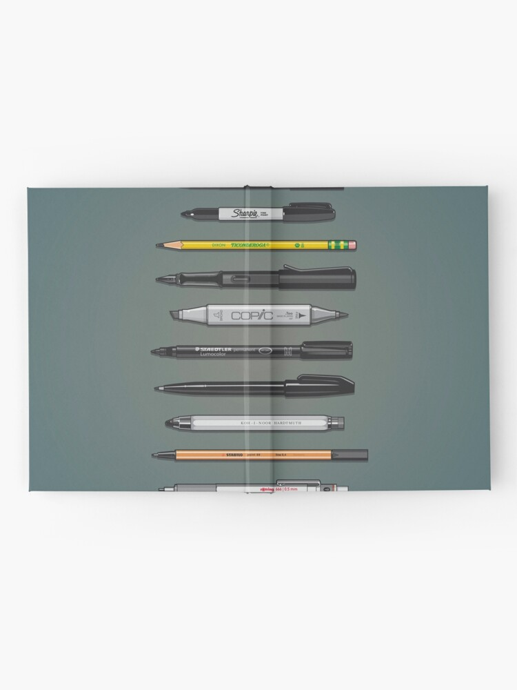 Alternate view of Pen Collection For Sketching And Drawing (Plain) Hardcover Journal
