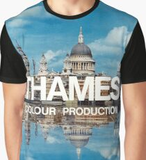Thames Colour Production T-shirt for Men or Women
