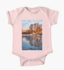 Cold Ice Trio - Lake Ontario Impressions One Piece - Short Sleeve