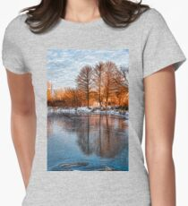 Cold Ice Trio - Lake Ontario Impressions Womens Fitted T-Shirt
