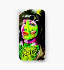 Punk Rock Zombie Chick COLOUR Samsung Galaxy Case/Skin