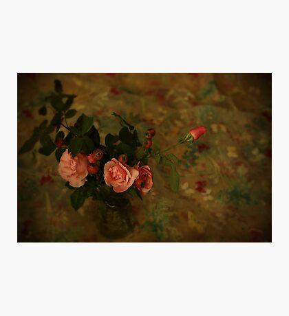 La vie en rose Photographic Print