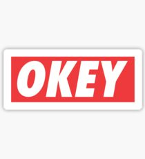 OKEY Sticker