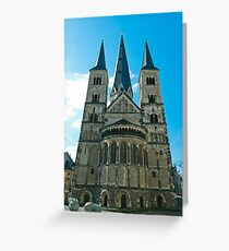 Minster Greeting Card