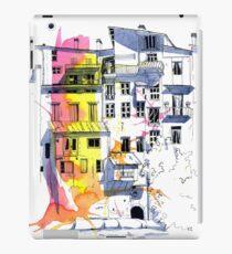 Maisons Suspendu, Pont-en-Royans, France iPad Case/Skin