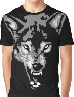 Shadow Wolf Graphic T-Shirt