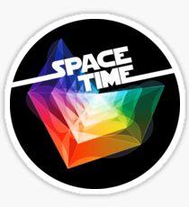 SpaceTime Sticker