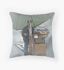 From the mist Throw Pillow