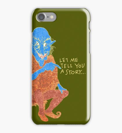 The Demon Storyteller iPhone Case/Skin