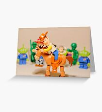 Toy Story Crew Greeting Card
