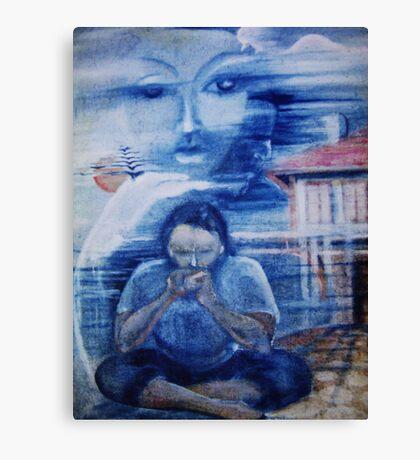 Blue time ... Canvas Print