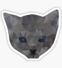kitten head Sticker