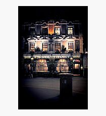 Sherlock Holmes pub Photographic Print