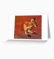 Kangaroo Joey Greeting Card