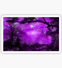 The Purple Forest Sticker