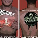 Liminal Cover Design - Front and Back by Nenad  Njegovan