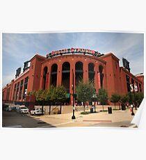 Busch Stadium - St. Louis Cardinals Poster