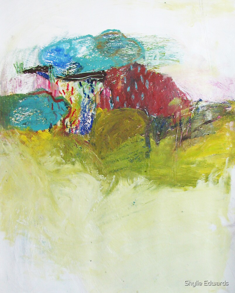 rain on hills by Shylie Edwards