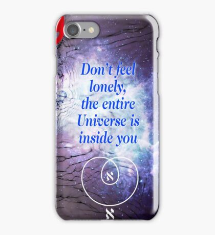 Rumi's Inspirational Quote iPhone Case/Skin