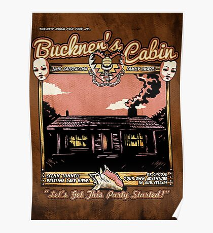 Buckner's Cabin Poster